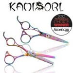 Kamisori Left Handed Jewel Titanium Hair Shear Set