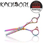 Kamisori PINK Titanium Thinning Shears