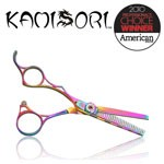 Kamisori Lefty JEWEL Titanium Thinning Shears